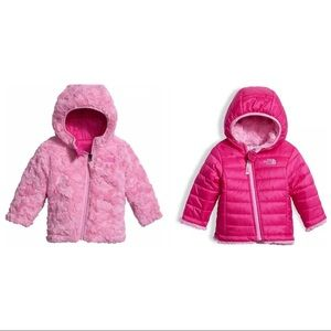 THE NORTH FACE | Baby girl reversible Coat Jacket